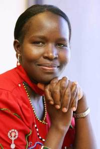 Kakenya Ntaiya the founder and president of Kakenya Center for Excellence in her home village of Enoosen in southern Kenya