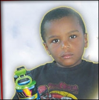 The late Robert Mbugua,4, who died in his sleep on Sunday September 19th, 2010