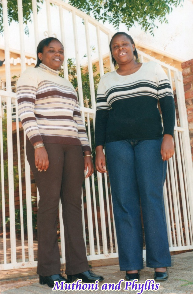 Phyllis Wanjiku Njuguna and Agnes Muthoni who perished along with their two children in South Africa on Christmas day.