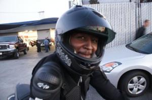 Maurice Kamande,26, who passed away after a motor bike accident in Huntington Beach California