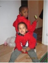 The two boys, Elian and Tevin who were killed by their mother in Sweden
