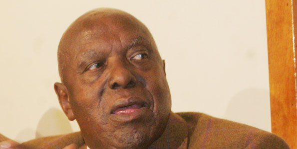 Former Defence minister Njenga Karume. Photo/FILE