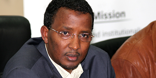 File | NATION IEBC chief Isaack Hassan says the commission is doing everything possible to ensure the daispora votes.