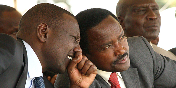 Kalonzo and Ruto |File Photo