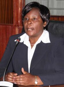 Deputy Chief Justice Nancy Baraza