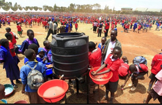 On October 12 last year, 53,873 pupils from 60 primary schools around Nairobi all washed their hands at exactly 10:30am in their respective schools