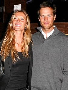 Gisele and her husband Tom Brady, the New England Patriots Quarterback