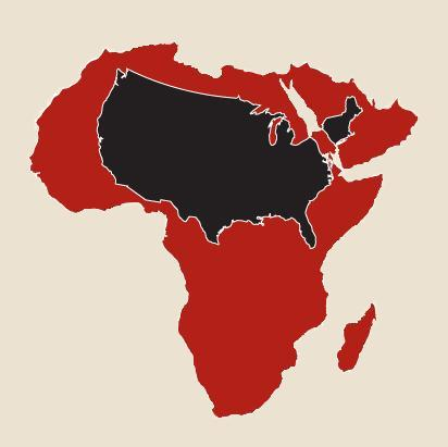 Africa Map United States | Campinglifestyle