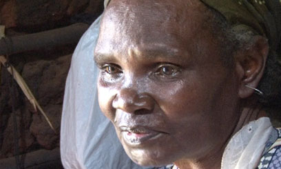 Elizabeth Wanjiku, an elderly 75-year-old woman living with HIV