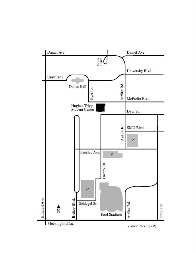 Hughes Trigg Map