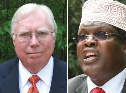 Strange Bedfellas: Controversial US publisher Jerome Corsi and bitter Raila critic Miguna Miguna