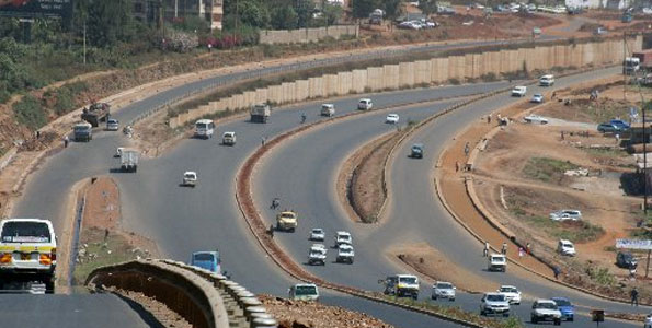 Photo/File Thika road is now an eight-lane superhighway constructed by China's Sinohydro Corporation East Africa. Kenyan drivers need refresher courses to be able to use these new roads with caution.