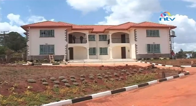 Vice President Kalonzo Musyoka's new house put up by the Government in Karen.