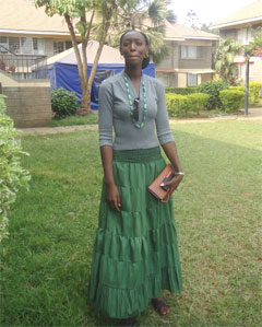 Caroline becomes the first female laywer from the SOS Kenya family.
