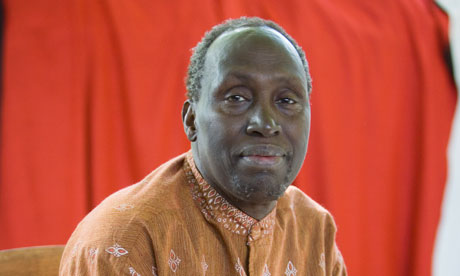 Prof Ngugi wa Thiong'o who is set to be honored by a group of US black writers in New York over the weekend.