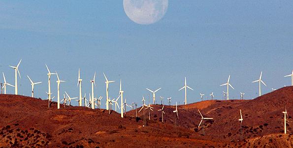 Photo/FILE A US wind farm.