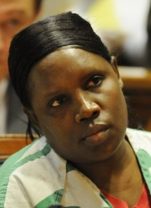 Nancy Kimuthia who was sentenced to 21 years in jail for the 2010 stabbing death of Ruth Munene